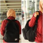 VIIBRANT BLACK BACKPACK AYU